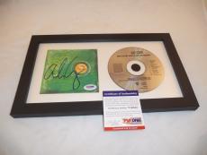 Alice Cooper Billion Dollar Babies Signed Framed CD Display PSA Certified