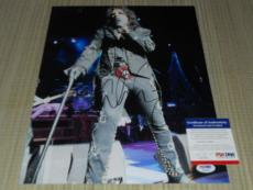 Alice Cooper Cool! Signed 11 X 14 Photo Autographed Ip! Psa/dna Proof