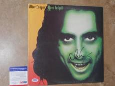 Alice Cooper COOL! Signed Goes To Hell LP Record Album PSA/DNA PROOF