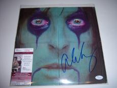Alice Cooper Famous Musician Jsa/coa Signed Lp Record Album
