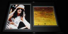 Alice Cooper Framed 12x18 Photo & School's Out Cover Display