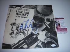 Alice Cooper Lace And Whiskey Jsa/coa Signed Lp Record Album