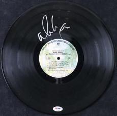 Alice Cooper Muscle Of Love Signed Vinyl Album Autographed Psa/dna #t51398