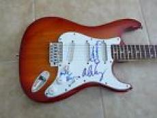 Alice Cooper Original Band Signed Autographed Electric Guitar PSA Guaranteed