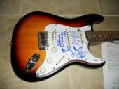 Alice Cooper Original RARE Band x4 IP Signed Autographed Guitar PSA Certified