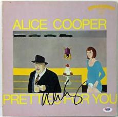 Alice Cooper Pretties For You Signed Album Cover PSA/DNA #W46852