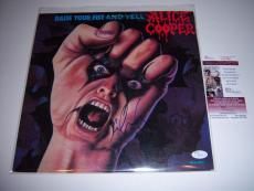 Alice Cooper Raise Your Fist And Yell Jsa/coa Signed Lp Record Album