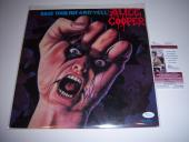 Alice Cooper Raise Your Fist And Yell Jsa/coa Signed Lp Record Album