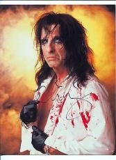 Alice Cooper Rock And Roll Singer School's Out Rare Signed Autograph Photo COA