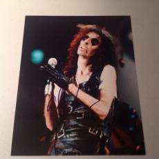 ALICE COOPER ROCK N ROLL LIVE SIGNED HOT! 8X10 PHOTO AUTOGRAPHED IP! COA g