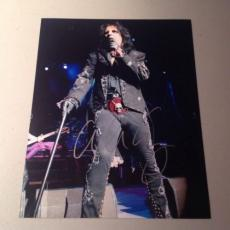 ALICE COOPER ROCK N ROLL LIVE SIGNED HOT! 8X10 PHOTO AUTOGRAPHED IP! COA p