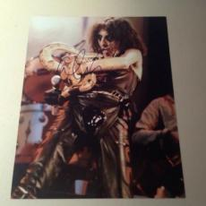 ALICE COOPER ROCK N ROLL LIVE SIGNED HOT! 8X10 PHOTO AUTOGRAPHED IP! COA q