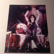 ALICE COOPER ROCK N ROLL LIVE SIGNED HOT! 8X10 PHOTO AUTOGRAPHED IP! COA t