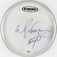 Alice Cooper School's Out Signed 11 Inch Drumhead Psa/dna #t50493
