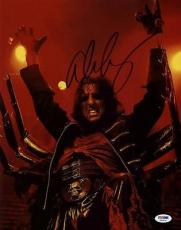 Alice Cooper School's Out Signed 11x14 Photo Autographed Psa/Dna