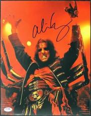 Alice Cooper School's Out Signed 11x14 Photo Psa/dna #t50338