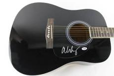 Alice Cooper School's Out Signed Guitar Autograph Psa/dna #s38011