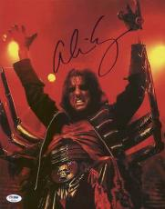 Alice Cooper Signed 11X14 Photo Autographed PSA/DNA #T50333