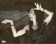 Alice Cooper Signed 11x14 Photo Autographed Psa/dna #u23533