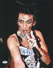 Alice Cooper Signed 11x14 Photo Autographed Psa/dna #u52924