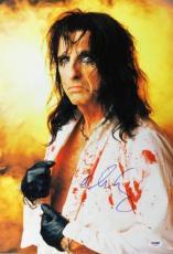 Alice Cooper Signed 13x19 Photo Autographed Psa/dna #u18660