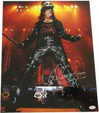 Alice Cooper Signed 16x20 Photo JSA Authenticated Autographed 2