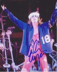 alice cooper Signed 8X10 Color Photo PSA/DNA 7A02537*