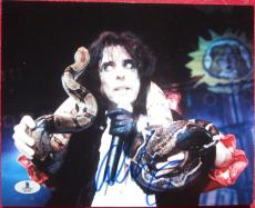 Alice Cooper signed 8x10 photo autograph Beckett BAS Authentication