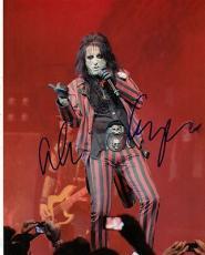 Alice Cooper Signed 8x10 Photo w/COA School's Out Shock Rock #1
