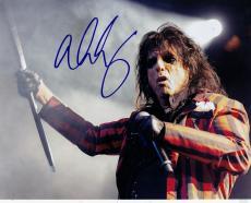 Alice Cooper Signed 8x10 Photo w/COA School's Out Shock Rock #5