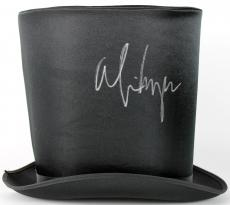 Alice Cooper Signed 9 Inch Nylon Top Hat PSA/DNA ITP #7A26752