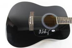 Alice Cooper Signed Acoustic Guitar Autograph PSA/DNA #S38011