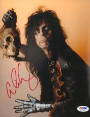 Alice Cooper Signed 8x10 Photo Picture PSA/DNA COA School's Out Trash Nightmare