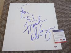 Alice Cooper Signed Autograph 12x12 Sketch PSA Certified #1 Welcome To Nightmare