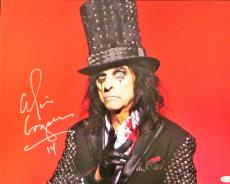 Alice Cooper Signed Autographed 16x20 Photo JSA Authenticated 2