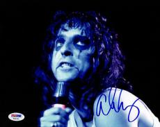 ALICE COOPER SIGNED AUTOGRAPHED 8x10 PHOTO PSA/DNA