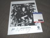 Alice Cooper Signed Autographed 8x10 Promo #6 Photo PSA Certified Nightmare