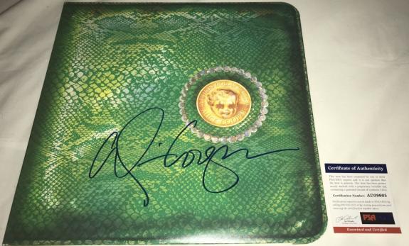 Alice Cooper Signed   Autographed Billion Dollar Babies Album   LP - PSA DNA Certified