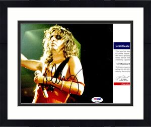 Alice Cooper Signed - Autographed Heavy Metal Singer 8x10 inch Photo with PSA/DNA Certificate of Authenticity (COA) - The Godfather of Shock Rock