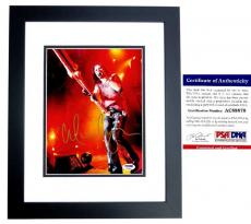 Alice Cooper Signed - Autographed Heavy Metal Singer 8x10 Photo with PSA/DNA Authenticity BLACK CUSTOM FRAME