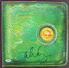 Alice Cooper Signed Billion Dollar Babies Album Cover W/ Vinyl PSA ITP #7A26904