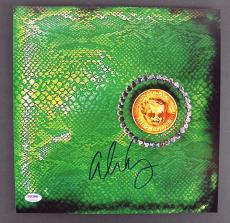 Alice Cooper Signed Billion Dollar Babies Album Flat PSA/DNA ITP