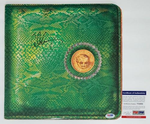 Alice Cooper Signed Billion Dollar Babies Record Album Psa Coa V84002