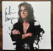 Alice Cooper Signed CD Booklet - Beckett BAS