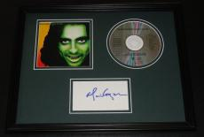 Alice Cooper Signed Framed 11x14 Goes to Hell CD & Photo Display