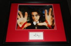 Alice Cooper Signed Framed 16x20 Photo Poster Display