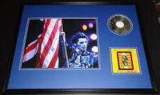 Alice Cooper Signed Framed 18x24 Prince of Darkness CD & Photo Display