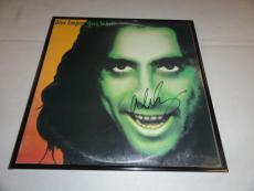 """Alice Cooper Signed Framed """"alice Cooper Goes To Hell"""" Album Alice N Chains"""