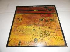 """Alice Cooper Signed Framed """"school's Out"""" Album Alice N Chains"""
