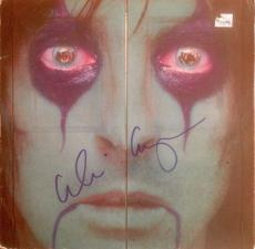 "ALICE COOPER signed ""From the Inside"" record album-JSA Authenticated"